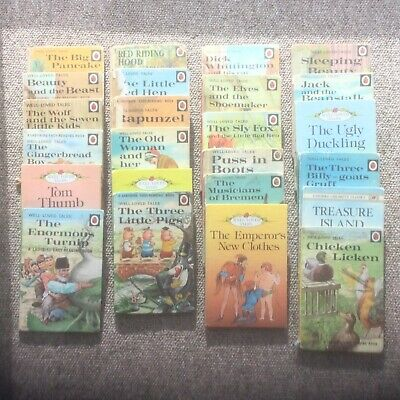 Ladybird 'Well-Loved' Tales, 24 Books From 1958 Onwards • 30£