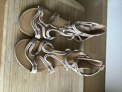 Gladiator Type Ladies Sandals Size 7 New Look • 1.40£