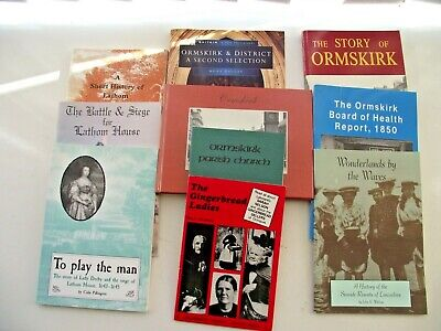 Ormskirk & Lathom Lancashire 10 Vintage Books  Local History Great Photographs • 4.45£