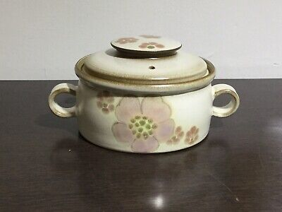 Vintage Denby 'Gypsy' Pattern 2 Pint  Casserole Dish With Matching Lid • 19.95£