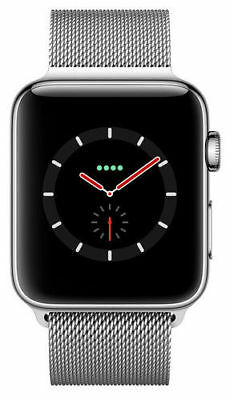 $ CDN1373.14 • Buy Apple Watch Series 3 42mm Stainless Steel Case With Milanese Loop (GPS +...