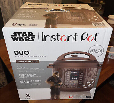 $ CDN201.04 • Buy NEW! Star Wars Instant Pot Duo Chewbacca Limited Special Edition Cooker- 8 Quart
