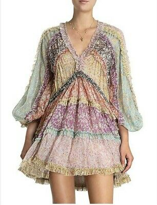 AU255 • Buy Zimmermann Carnaby Frill Dress 0
