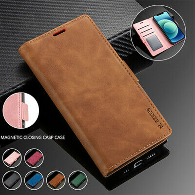 AU14.99 • Buy Magnetic Leather Wallet Flip Case Cover For Xiaomi 10 Redmi Note 9s/9 8 Pro 8A
