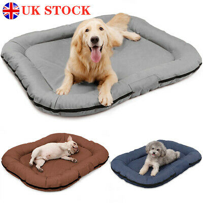 £27.29 • Buy NEW Pet Dog Cat Bed Waterproof Deluxe Soft Puppy Beds Cushion Mattress Pad Mat