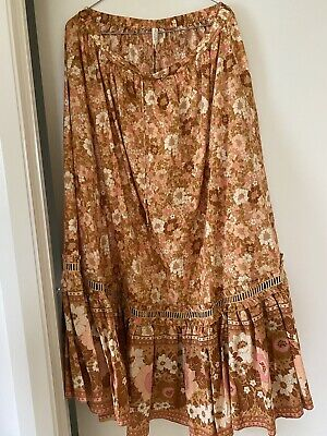 AU260 • Buy Spell And The Gypsy Anne Maxi Skirt Size XL BNWT