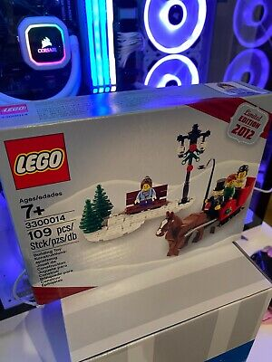LEGO 3300014 * Limited Edition Christmas Set 2012 - Brand New In Sealed Box  • 32.95£
