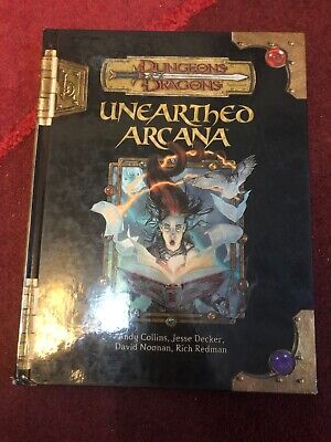 AU54.16 • Buy Unearthed Arcana - Dungeons And Dragons D&d 3rd/ 3.5 D20 System
