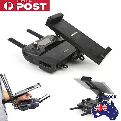 AU26.95 • Buy For DJI Mavic Air Pro Spark Foldable Tablet Phone Mount Holder Remote Controller