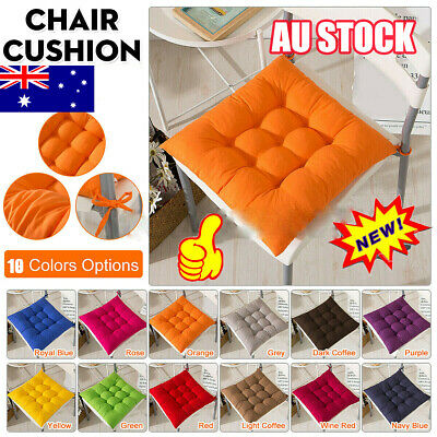 AU15.38 • Buy Indoor Outdoor Dining Garden Patio Kitchen Office Chair Seat Pads Cushion BO