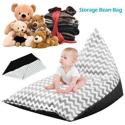 Extra Large Stuffed Bean Bag Animal Toy Storage Cover Soft Seat Chair Kids  • 13.49£