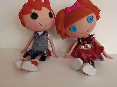 2 X Lalaloopsy Large 12 Inches Dolls Mittens & Boy Doll • 3.50£