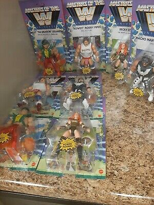 $128.50 • Buy WWE 2021 Wave 5 Masters Of The Universe Action Figures 2 Complete Sets - NEW!
