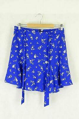 AU27.50 • Buy Forever New Size 10 Blue Skirt By Reluv Clothing