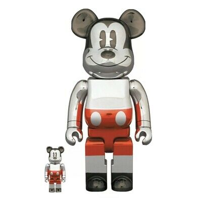 $350 • Buy BEARBRICK FUTURE MICKEY MOUSE 2nd COLOR 100%400% *CONFIRMED ORDER*