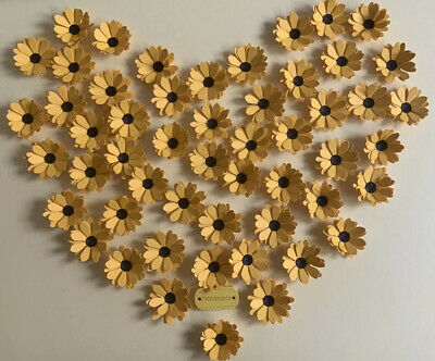 £1.95 • Buy Delightful Handcrafted 12 Paper Sunflowers 🌻 Crafts Card Making