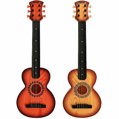 Kids Beginners 26  Acoustic Guitar 6 String And Pick Children Music Rock Star • 12.27£