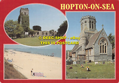 L089778 Hopton On Sea. J. Salmon. Multi View • 5.75£