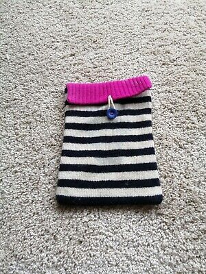 £2.99 • Buy Joules Knitted Striped IPad Tablet Case