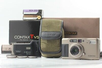 $ CDN594.87 • Buy [Exc+++++ In Box] CONTAX TVS 35mm Point & Shoot Film Camera From JAPAN #0062