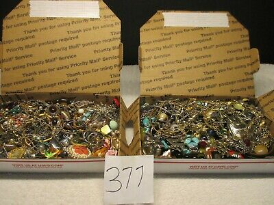 $ CDN75.73 • Buy Vintage To Now Estate Find Jewelry Lot,  JUNK DRAWER  Unsearched  2 Lots AS IS