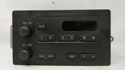 $60.99 • Buy 2004-2012 Gmc Canyon Am Fm Cd Player Radio Receiver 84707
