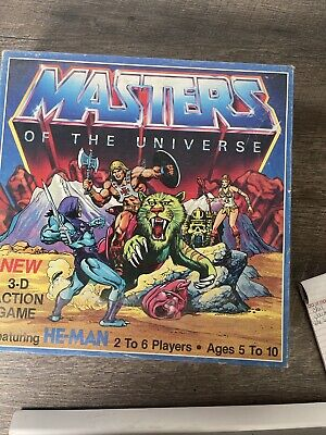 $0.99 • Buy 1983 Mattel Master Of The Universe 3-D Action Board Game