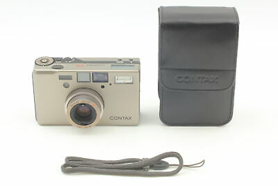 $ CDN2312.04 • Buy [MINT In CASE] Contax T3 D T3D Silver 35mm Point & Shoot Film Camera From JAPAN