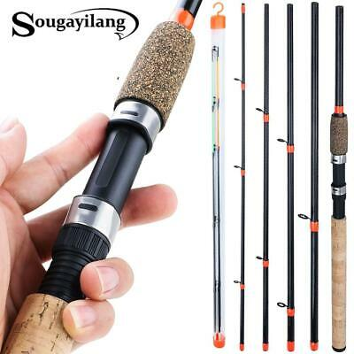 Sougayilang 3m Feeder Rod L M H Power Fishing Rod Ultrght Weight 6 Section Carbo • 27.30£