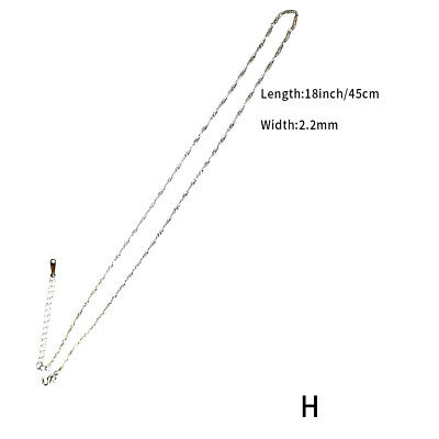 Stainless Steel Steel Jewelry Chain Styles Hip Hop Wild Necklacee • 2.69£