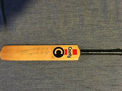 AU200 • Buy Cricket Bat (County Miniature) Signed In Person 1980s By Sir Garry Sobers.