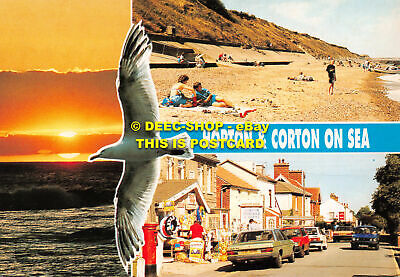 L096218 Hopton And Corton On Sea. Fisa I. G. Multi View • 5.75£