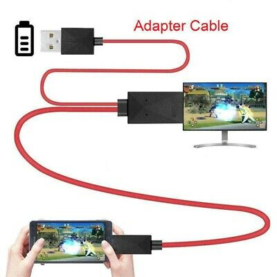 $ CDN60.89 • Buy MHL 11Pin Micro USB To HDMI 1080P HD TV Cable Adapter For Android Samsung Phone