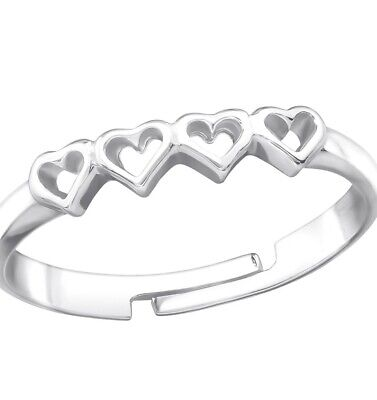 Silver Love Ring Ladies Jewellery Silver 925  • 4.99£