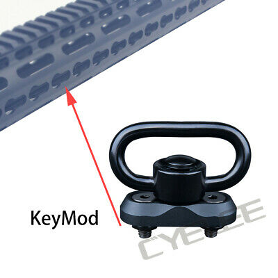 $ CDN15.80 • Buy 2pc 1.25  Sling Buckle QD Button Swivel Quick Release KeyMod Mount Hunting Rifle