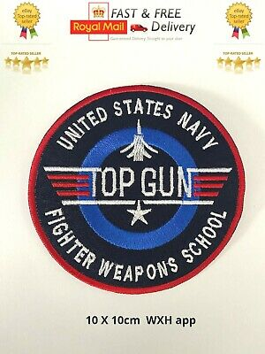 £1.99 • Buy Top Gun Video Game Blue New Embroidered Sew/Iron On Patch Badge Jacket/JeansN-43