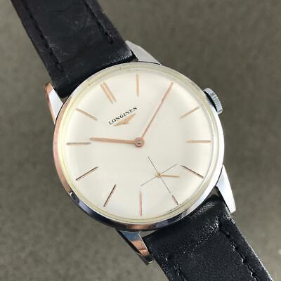 $ CDN603.77 • Buy VINTAGE LONGINES REFERENCE 8888 31 CALIBER 30L S STEEL SWISS WATCH FROM Ca 1960