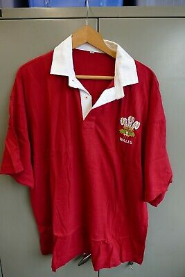 £8.99 • Buy Wales Lightweight Cotton Classic  Rugby Leisure Shirt Size XL - New
