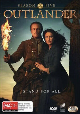 AU16 • Buy Outlander Season 5 Dvd-brand New/sealed Region 4 Free Shipping!