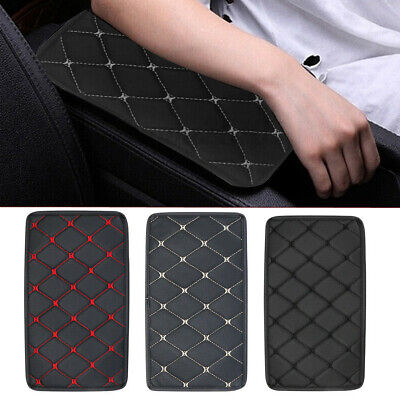 $7.25 • Buy CUniversal Car Auto Armrest Pad Cover Center Console Box PU Leather Cushion Mat