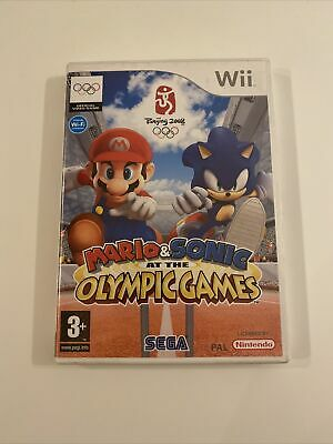 Mario & Sonic At The Olympic Games (Wii, 2007) • 3£