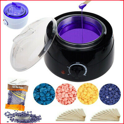 $24.83 • Buy Professional Wax Warmer Heater Hair Removal Depilatory Home Waxing Kit Beans