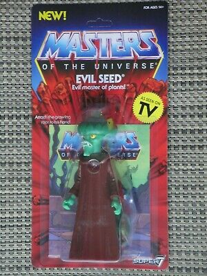 $35 • Buy Masters Of The Universe Evil Seed Action Figure MOC Super 7 Vintage Series