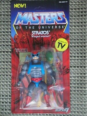 $25 • Buy Masters Of The Universe Stratos Action Figure MOC Super 7 Vintage Series