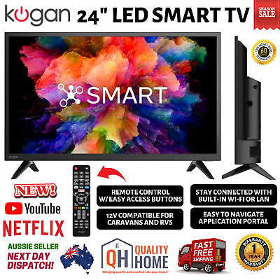 AU258.99 • Buy 24  LED Smart TV HDMI USB Screen Mirroring  PVR 12V Caravans And RVs  (Series 7)