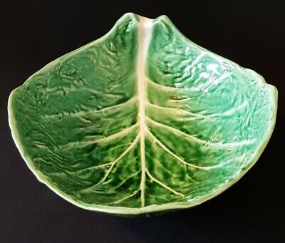 £40 • Buy Vintage 1970's Secla Portugal Cabbage Leaf Bowl