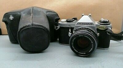 Lovely Vintage Old School Asahi Pentax  M 1:1,7 50mm Lens With Free Camera R224 • 20£