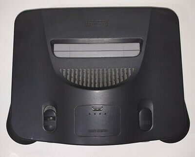 AU65.33 • Buy Nintendo 64 N64 Charcoal Grey Console Only With Expansion Pak TESTED WORKING