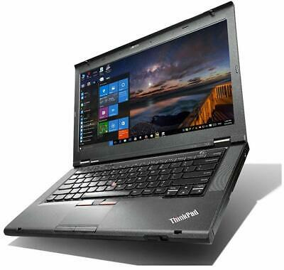Lenovo T430 14  Core I5 8GB RAM 256GB SSD Win 10 & Office 2019 & Warranty • 229.99£