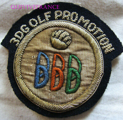 £54.39 • Buy BG9789 - Old Patch 3D Golf Promo - IN Purl